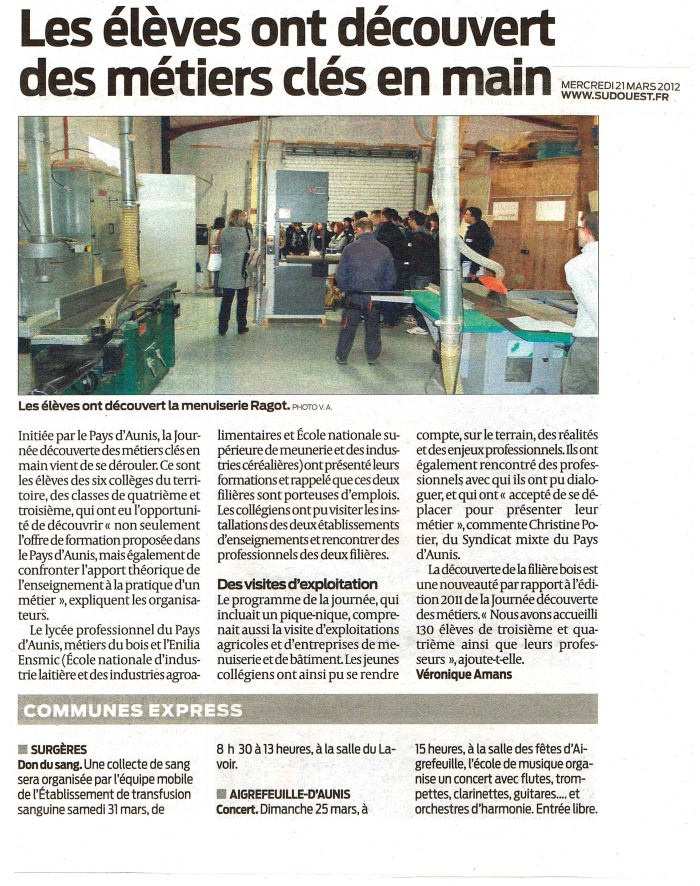 Article sud-ouest