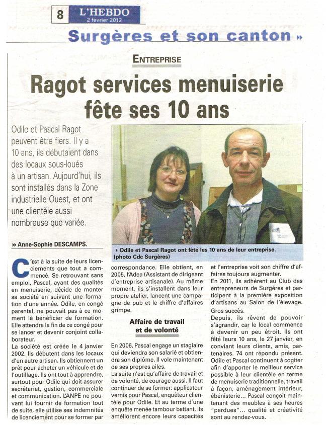 Article Hebdo